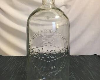 Vintage Photography Chemical Bottle