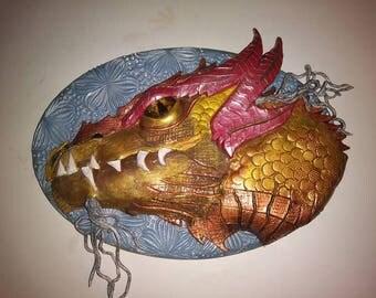 Hand Sculpted Dragon