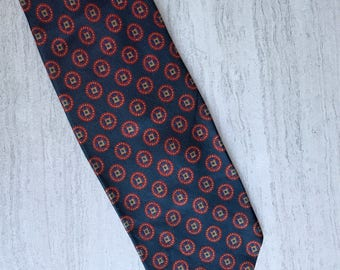 "Brooks Brothers ""346"" Navy Blue Detailed Men's Tie"