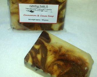 Cinnamon & Cocoa Soap