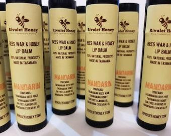 Bees Wax and Honey Lip Balm (mandarin)