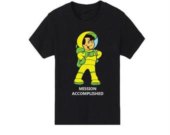 Mission Accomplished T-Shirt for children - available in many sizes and colors