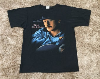 Vintage 90s Tim McGraw 'Don't Take The Girl' Band T-Shirt