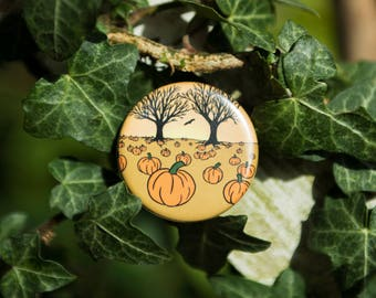 Pumpkin Patch Halloween Badge