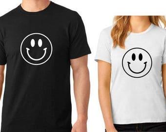 Smiley Face Family Custom T Shirt