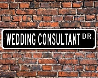 Wedding Consultant Gift Sign Planning Receptions