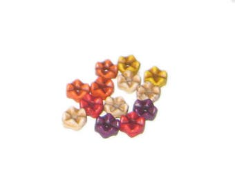 Approx. 1oz. 6 x 4mm Color Dyed Turquoise Beads