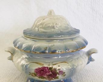 Vintage Lusterware Tureen
