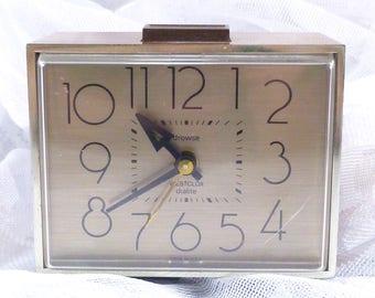 Retro Westclox Dunmar Drowse Dialite alarm clock
