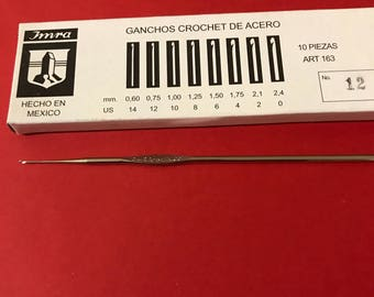 Crochet needle size 12