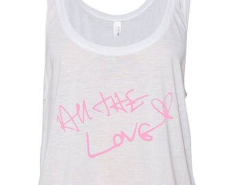 Harry Styles / All The Love Autograph Cropped Tank