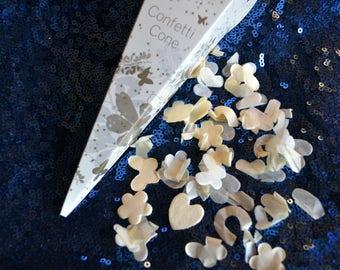 Bio-degradeable Wedding Confetti Cones