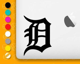 detroit tigers, detroit tigers decal, tigers decal, baseball decal, detroit sticker, sports decal, detroit vinyl, detroit baseball