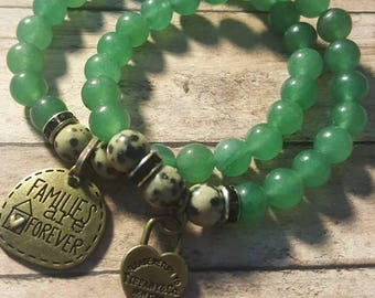 Green Leopard With Tiffany Heart