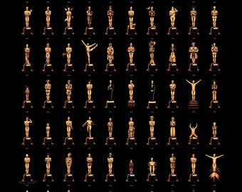 Olly Moss, 85th Anniversary Oscars, Limited Edition, Print, Art, Litho