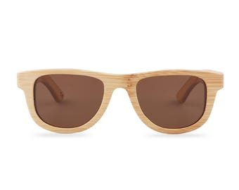 Wooden sunglasses - The Original Wayfarer Small - Brown glasses