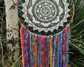50cm Rainbow dream catcher