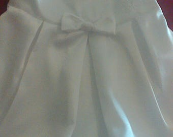 White long christening/special occasion baby dress