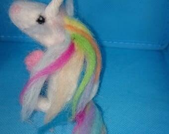 felted Unicorn