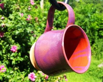 Handcrafted Pot Belly Ceramic Mug