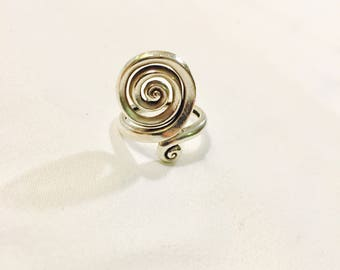 Vintage Sterling Silver Hand Crafted Ring