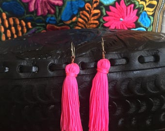 Tassle earrings in different colors!!