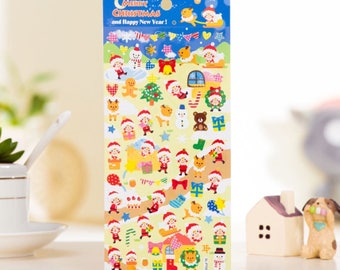 DIY Colorful Christmas Kawaii Stickers Diary Planner Journal Note Diary Paper Scrapbooking Albums PhotoTag - Design 5