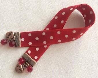 "Bookmark - book jewelry ""Roma Love"""