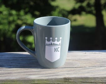 KC Royals Gray Coffee Cup Hosmer