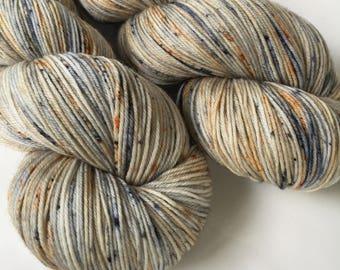 Hand dyed yarn - Rustoration - Moor - 100% superwash merino wool - fingering weight sock yarn