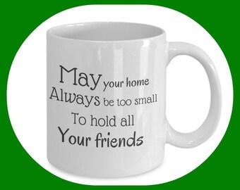 Irish Blessing Mug - Irish Blessing Gift - Irish Gifts - Irish Sayings - Irish Mug