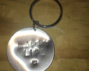 Stamped Key Chains