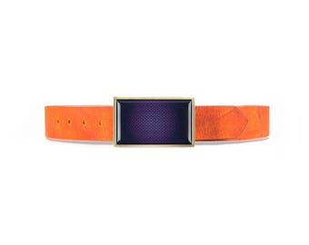 PURPLE  VINTAGECOGNAQ BELT