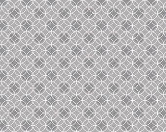 170227 Grey Dot Circles-Bree by Benartex