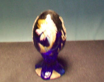 Fenton Hand Painted Limited Edition Egg 2417/3000