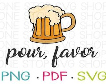 Beer SVG, Beer Clip Art, Funny Mens Shirt, Funny Womens Shirt, Beer Shirt, Silhouette File, Cricut File, Heat Transfer, Shirt File, Beer