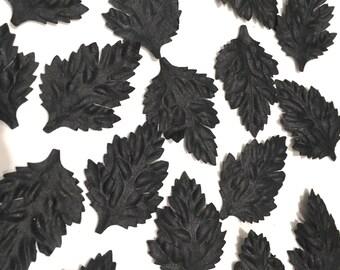 Black Oak Mulberry Paper Leaves Leaf22