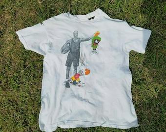 Insane vintage 1993 Nike Michael Jordan Space Jam tshirt