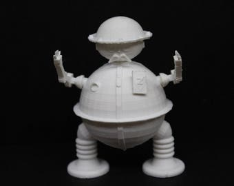 3D Print - Tik Tok Return to Oz - 3 1/2'' figure with accessories! Customize!