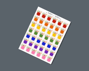 Grocery Bag Icons - Planner Stickers