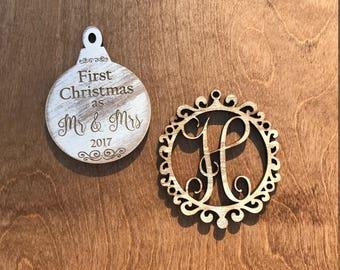 First Christmas ornament set
