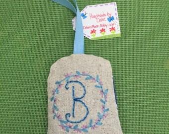 The Letter B -  Lavender Sachet