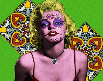 Marilyn Day of the Dead