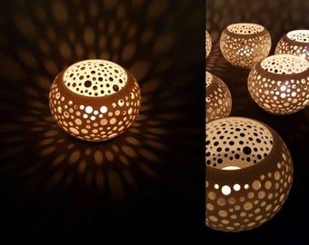 """1 candle """"Rash"""", Limoges porcelain"""