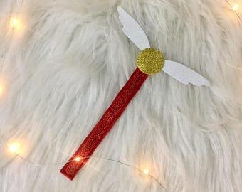 Harry Potter Golden Snitch Handmade Bookmark