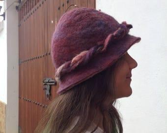 Elegant felt hat