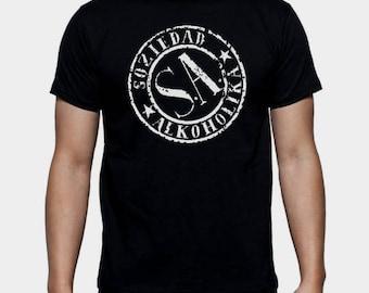 T-shirt man boy Soziedad alkoholika T shirt man boy several sizes different sizes sa