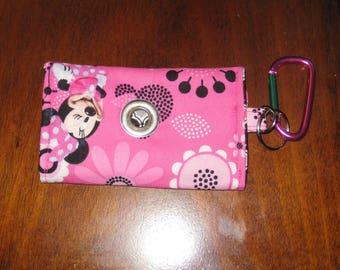 Minnie Mouse Dog Waste Bag Holder Poop Bag Dispenser