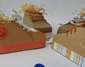 Sports Themed Party Favor Booties