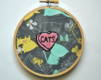 CATS Hand Embroidery